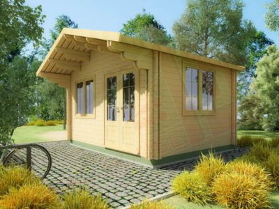 fashion studio wooden cabin