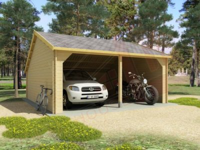 wooden garage dexa-5959